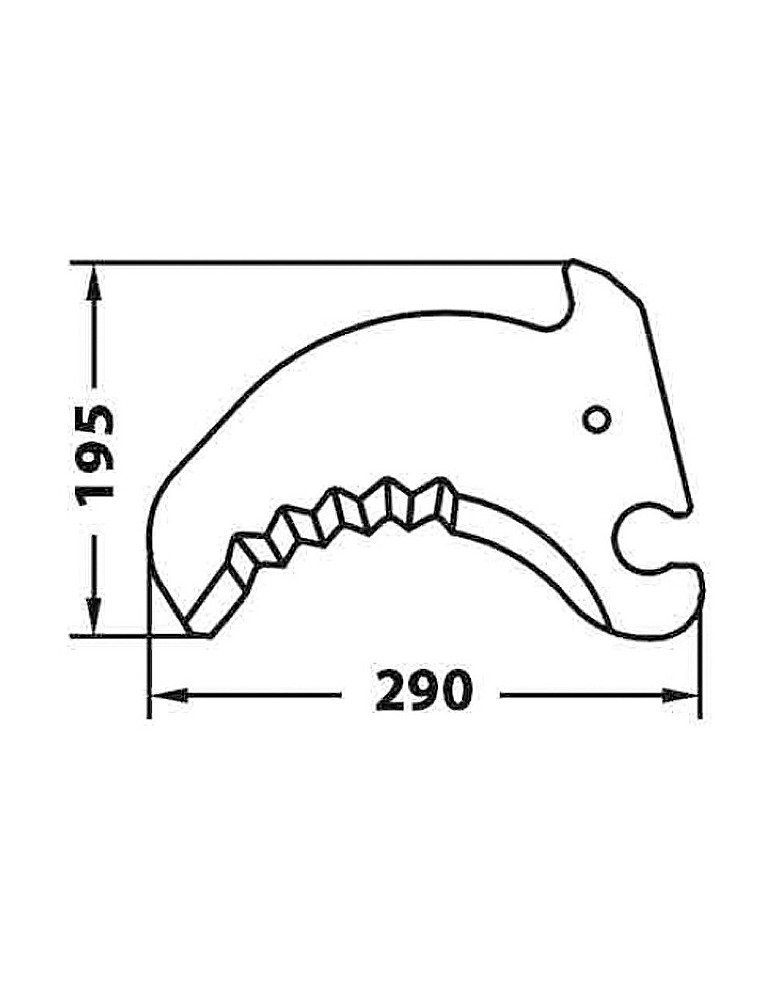 Cuchilla Adaptable para Empacadora-Rotoempacadora Krone