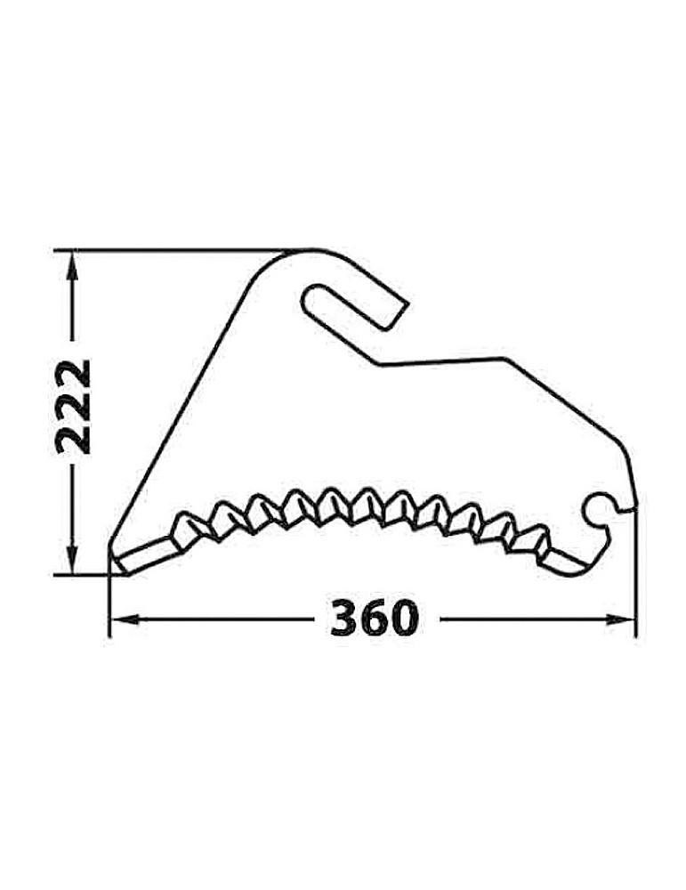 Cuchillas Adaptables para Empacadoras y Rotoempacadoras Mchale