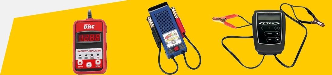 Comprobadores de baterías