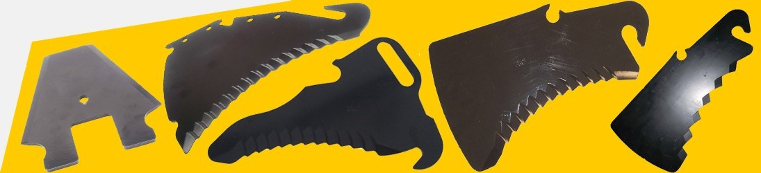 Cuchillas para Autocargador Empacadora