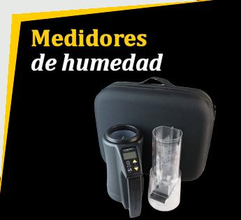 MEDIDORES DE HUMEDAD, TEMPERATURA Y PESO ESPECIFICO