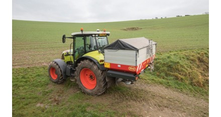 GEOSPREAD de VICON: RJ Beer ha ahorrado alrededor de 25 toneladas de fertilizante cada campaña